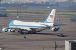 BOEING737MAX-8さんが、羽田空港で撮影したアメリカ空軍 VC-25A (747-2G4B)の航空フォト(写真)