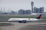 よんすけさんが、羽田空港で撮影したデルタ航空 A350-941XWBの航空フォト(写真)