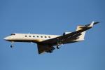mogusaenさんが、成田国際空港で撮影したMGMミラージュ G-V Gulfstream Vの航空フォト(飛行機 写真・画像)