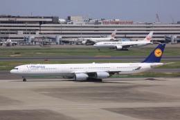 航空フォト:D-AIHE ルフトハンザドイツ航空 A340-600