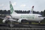 planetさんが、アムステルダム・スキポール国際空港で撮影したトランサヴィア 737-8K2の航空フォト(写真)