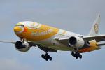 szkkjさんが、成田国際空港で撮影したノックスクート 777-212/ERの航空フォト(写真)