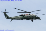 Chofu Spotter Ariaさんが、厚木飛行場で撮影したアメリカ海兵隊 VH-60N White Hawk (S-70A)の航空フォト(写真)