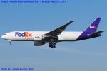 Chofu Spotter Ariaさんが、成田国際空港で撮影したフェデックス・エクスプレス 777-FHTの航空フォト(飛行機 写真・画像)