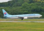 じーく。さんが、岡山空港で撮影した大韓航空 737-9B5の航空フォト(飛行機 写真・画像)