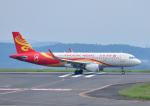 じーく。さんが、岡山空港で撮影した香港航空 A320-214の航空フォト(写真)