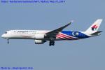 Chofu Spotter Ariaさんが、成田国際空港で撮影したマレーシア航空 A350-941XWBの航空フォト(写真)
