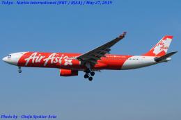 Chofu Spotter Ariaさんが、成田国際空港で撮影したタイ・エアアジア・エックス A330-343Eの航空フォト(飛行機 写真・画像)