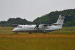 だだちゃ豆さんが、庄内空港で撮影した国土交通省 航空局 DHC-8-315Q Dash 8の航空フォト(写真)