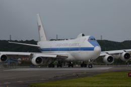 382kossyさんが、横田基地で撮影したアメリカ空軍 E-4B (747-200B)の航空フォト(飛行機 写真・画像)