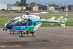 まんぼ しりうすさんが、福井空港で撮影した福井県防災航空隊 BK117C-2の航空フォト(写真)