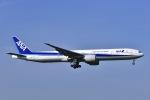 Yukipaさんが、成田国際空港で撮影した全日空 777-381/ERの航空フォト(写真)