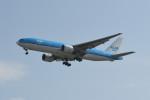 kuro2059さんが、台湾桃園国際空港で撮影したKLMオランダ航空 777-206/ERの航空フォト(写真)