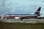 tassさんが、フォートローダーデール・ハリウッド国際空港で撮影したUSエアウェイズ 737-301の航空フォト(写真)