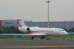 banshee02さんが、羽田空港で撮影したユタ銀行 G-V Gulfstream V-SPの航空フォト(写真)
