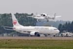 スカルショットさんが、帯広空港で撮影した日本航空 737-846の航空フォト(飛行機 写真・画像)