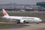 けいとパパさんが、羽田空港で撮影した日本航空 777-246/ERの航空フォト(写真)