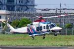 Mizuki24さんが、東京ヘリポートで撮影した三重県防災航空隊 AW139の航空フォト(写真)