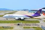 Cherry blossoms さんが、関西国際空港で撮影したタイ国際航空 747-4D7の航空フォト(写真)