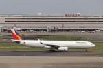 KAZFLYERさんが、羽田空港で撮影したフィリピン航空 A330-343Eの航空フォト(写真)