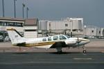 Gambardierさんが、岡山空港で撮影した日本法人所有 G58 Baronの航空フォト(写真)