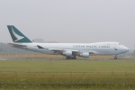 気分屋さんが、成田国際空港で撮影したキャセイパシフィック航空 747-467F/ER/SCDの航空フォト(飛行機 写真・画像)