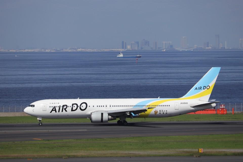 KAZFLYERさんのAIR DO Boeing 767-300 (JA98AD) 航空フォト