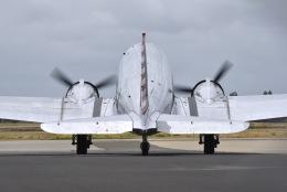 cornicheさんが、オークランド国際空港で撮影したAEROTECHNICS AVIATION INC DC-3Aの航空フォト(飛行機 写真・画像)