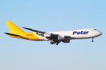 Hide.Oさんが、成田国際空港で撮影したポーラーエアカーゴ 747-87UF/SCDの航空フォト(写真)