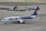 ドラパチさんが、中部国際空港で撮影したスカイマーク 737-81Dの航空フォト(写真)