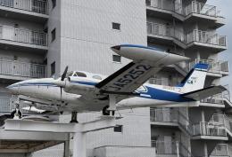 チャーリーマイクさんが、東京都福生市で撮影したベルハンドクラブ 340の航空フォト(飛行機 写真・画像)