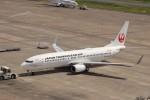 KAZFLYERさんが、羽田空港で撮影した日本トランスオーシャン航空 737-8Q3の航空フォト(写真)