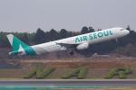 PASSENGERさんが、成田国際空港で撮影したエアソウル A321-231の航空フォト(写真)