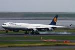 幻想航空 Air Gensouさんが、羽田空港で撮影したルフトハンザドイツ航空 A340-642の航空フォト(写真)