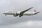 kozikoziさんが、成田国際空港で撮影した日本航空 787-9の航空フォト(写真)
