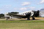 chrisshoさんが、フリードリヒスハーフェン空港で撮影したルフトハンザドイツ航空 Ju 52/3mの航空フォト(飛行機 写真・画像)