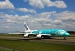 にしやんさんが、新千歳空港で撮影した全日空 A380-841の航空フォト(写真)