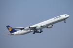 mogusaenさんが、成田国際空港で撮影したルフトハンザドイツ航空 A340-642Xの航空フォト(飛行機 写真・画像)