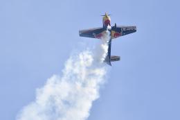 betaさんが、千葉県立幕張海浜公園で撮影したザルツブルク・ジェット・アビエーション EA-300LCの航空フォト(飛行機 写真・画像)