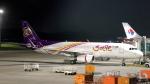 誘喜さんが、クアラルンプール国際空港で撮影したタイ・スマイル A320-232の航空フォト(写真)