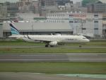 ヒコーキグモさんが、福岡空港で撮影したエアプサン A321-231の航空フォト(写真)