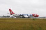 まっちゃんさんが、仙台空港で撮影したエーデルワイス航空 A330-243の航空フォト(写真)