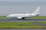 kuraykiさんが、羽田空港で撮影したSASインスティチュート 737-7BC BBJの航空フォト(写真)