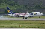 ✈︎Love♡ANA✈︎さんが、長崎空港で撮影したスカイマーク 737-8ALの航空フォト(写真)
