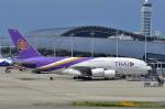 kix-booby2さんが、関西国際空港で撮影したタイ国際航空 A380-841の航空フォト(写真)