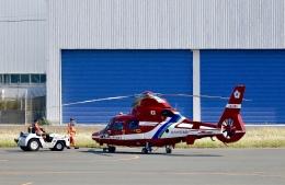 Zakiyamaさんが、北九州空港で撮影した北九州市消防航空隊 AS365N3 Dauphin 2の航空フォト(飛行機 写真・画像)