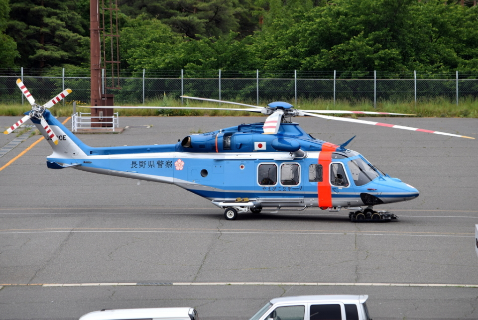 jun☆さんの長野県警察 AgustaWestland AW139 (JA220E) 航空フォト