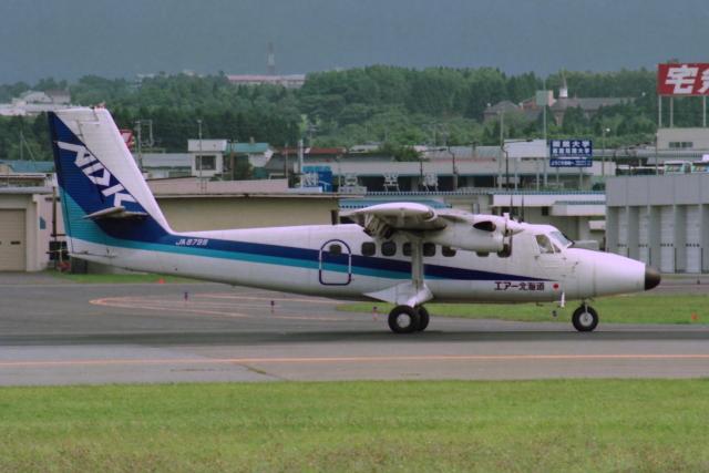 kinsanさんが、函館空港で撮影したエアー北海道 DHC-6-300 Twin Otterの航空フォト(飛行機 写真・画像)