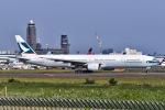 Yukipaさんが、成田国際空港で撮影したキャセイパシフィック航空 777-367の航空フォト(写真)