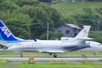 臨時特急7032Mさんが、福岡空港で撮影したスイス空軍 Falcon 900EXの航空フォト(写真)
